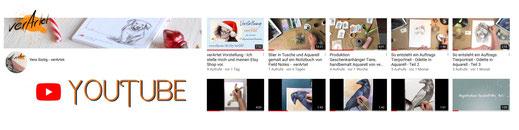 verartet auf Youtube
