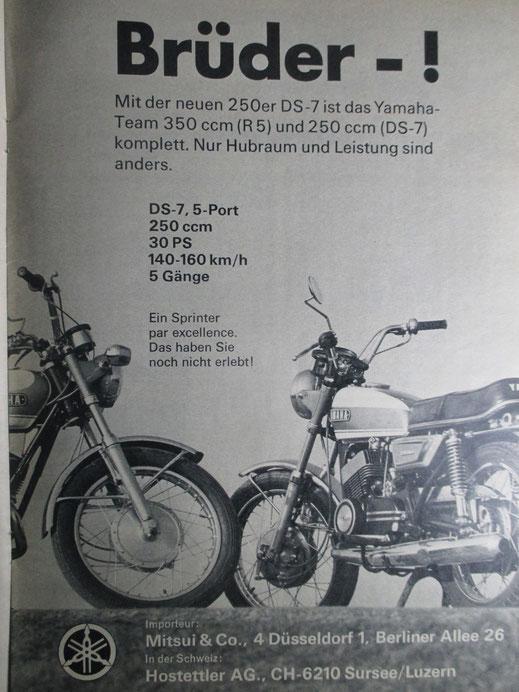 Werbung - blieb bei Michael Westermann nicht ohne (Nach)Wirkung...