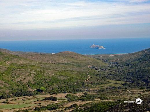 Das Nordkap mit der Insel Giaglio
