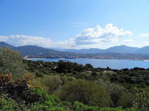 Die Küstenregion um die Ortschaft Propriano