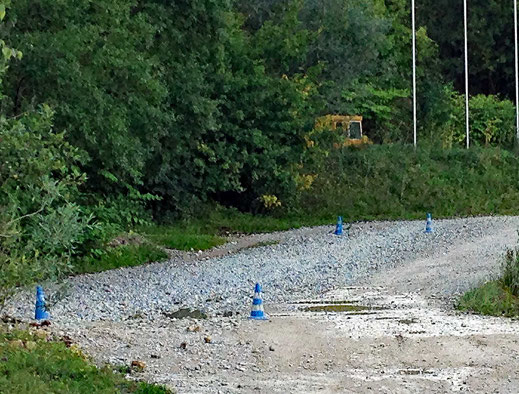 Motorradreisen Geröll, Schötter Wald
