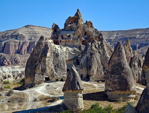 Früher wurden viele dieser Felsformationen bewohnt
