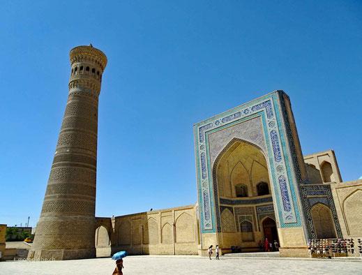 Das Kalon Minaret in Buchara
