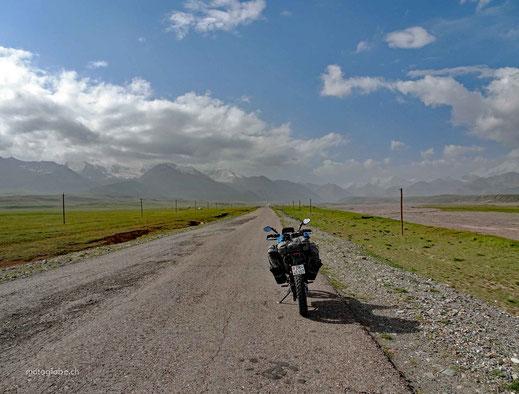 Auf zur kirgisischen Grenze