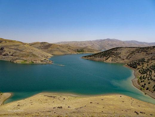 Der Cham-e Sarab-e Qamisch See