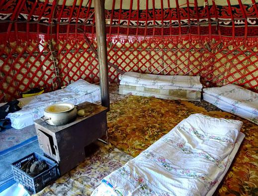 Die gemütliche Dormitory Jurte