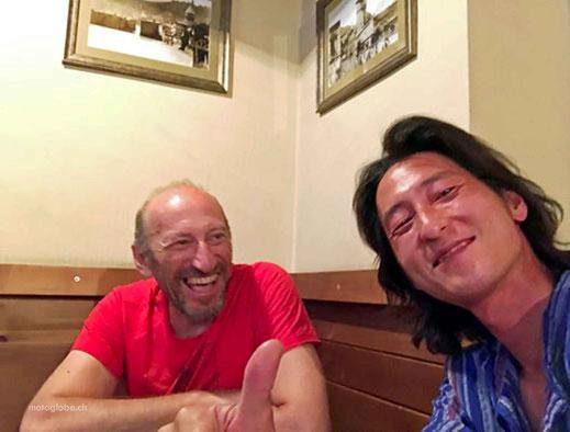 Ein lustiger Abend mit Biker Hansol aus Südkorea