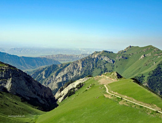 Auf der Passhöhe des Moldo Ashu Pass