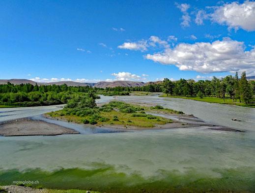 Der Chuya Fluss