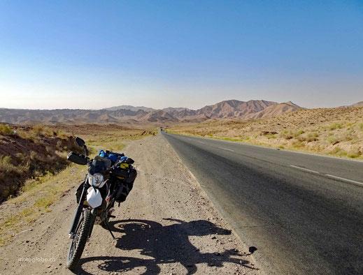 Auf der Strecke nach Bardaskan