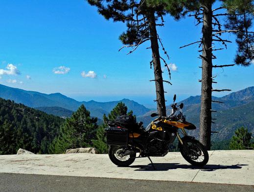 Panorama vom Col de Sorba