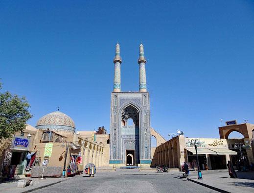 Die Zentralmoschee in Yazd