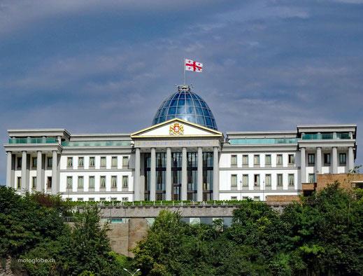 Der prunktvolle Präsidentenpalast