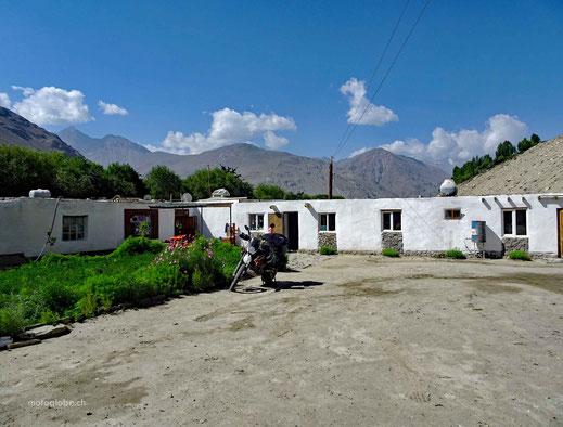 Mein Guesthaus in der Siedlung Langar im Wakhan Valley