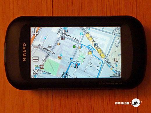Navigationsgerät Garmin Montana 610