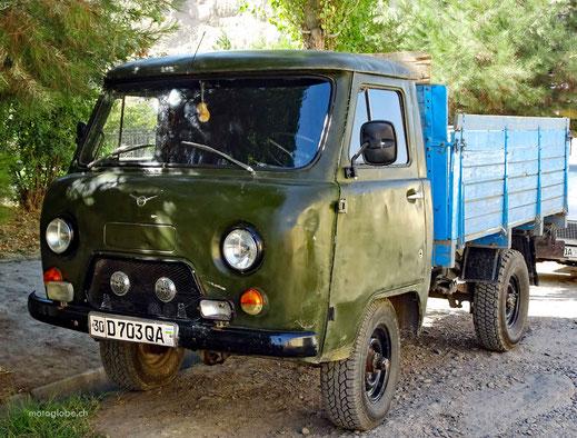 Seit der Mongolei gibt diesen russischen Fahrzeugtyp in unzähligen Varianten