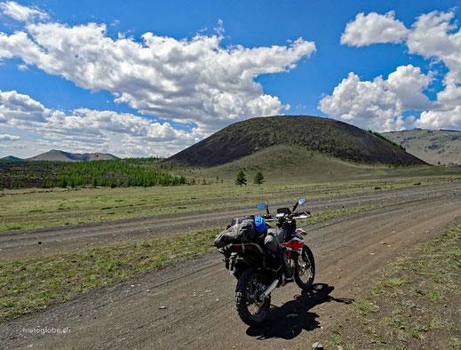 Der Khorgo Uul Vulkan