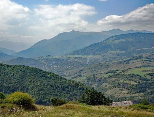 Unterwegs im grünen Norden Armeniens