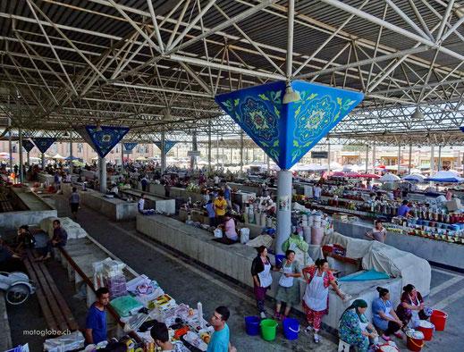 Der Bazar in Samarkand