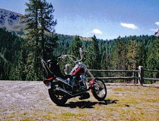 Motorradreisen Bild einer Harley Davidson Motorrad