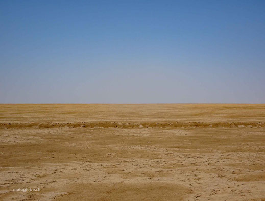 Auf der Strecke nach Khur ist einfach nichts mehr