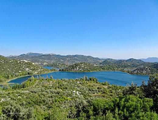 Die Bascina Seen bei Plocé
