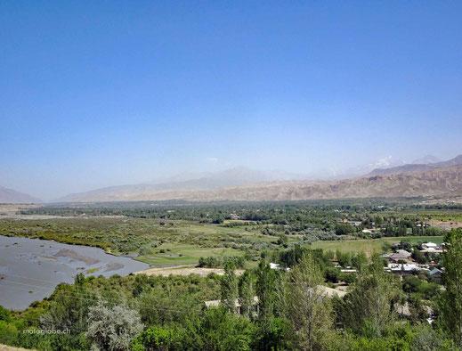Auf  Wiedersehen Tadschikistan