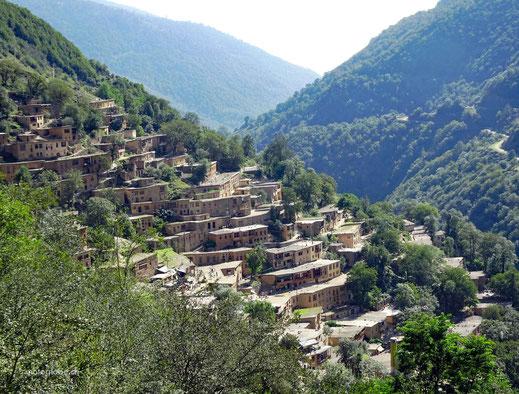 Die malerisch gelegene Ortschaft Masouleh