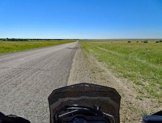 In Kasachstan kommt als Erstes mal gar nichts