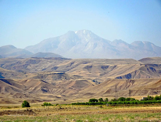 Der erloschene Vulkan Sahand