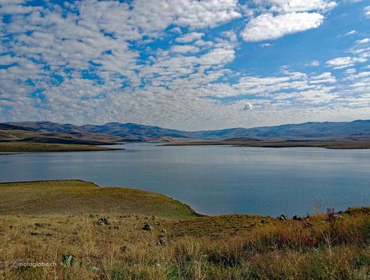 Von Erzurum Richtung Süden ändert das Landschaftsbild