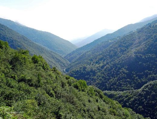 Mitten im Albroz Gebirge