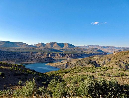 Fantastisch die Landschaft von Siverek zum Mount Nemrut