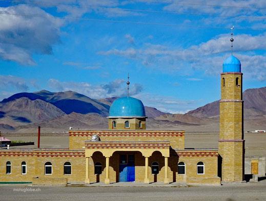 Wüstenmoschee bei Ölgii, wo viele moslemische Kasachen leben