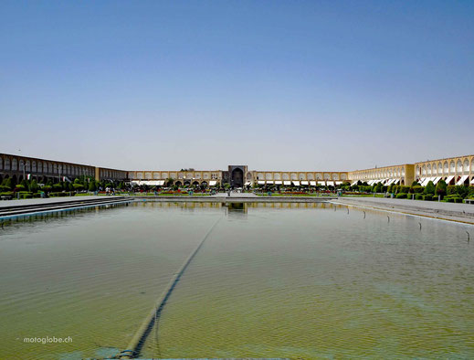 Naqsch-e Dschahan, zweitgrösster Platz der Welt
