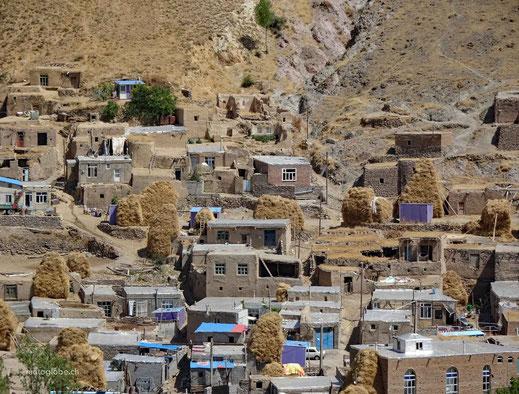 Eine typische Siedlung im Norden Irans