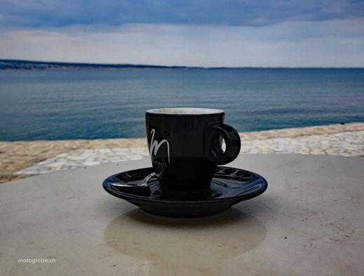 Mit dieser Aussicht schmeckt der Kaffee doppelt so gut