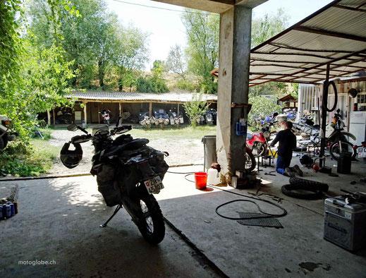 Die Werkstatt von MuzToo in Osdh