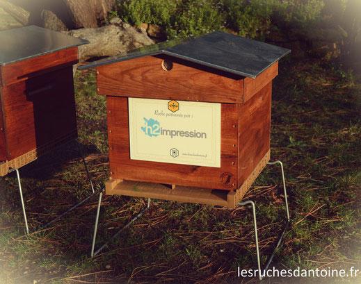 h2impression, h2copy, ruche, imprimeur responsable, les ruches d'antoine,