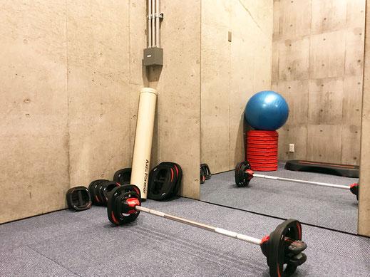 パーソナルトレーニングスペース1