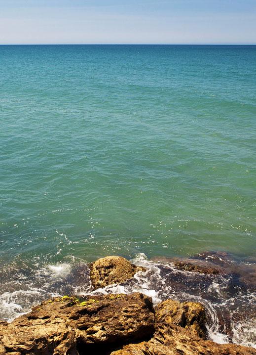 Kath Visual, Blog, Meer, Brandung, Strand, Steine, Wasser, Potential