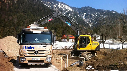 Baustelle Gnadenwald