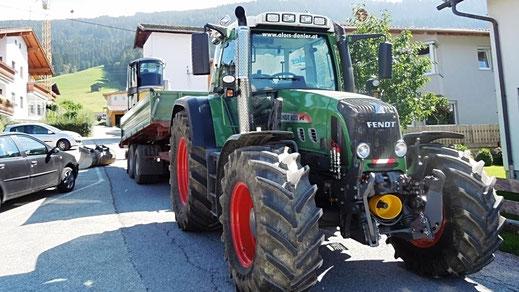 Spezial Traktor für Transporte Alois Danler Weerberg