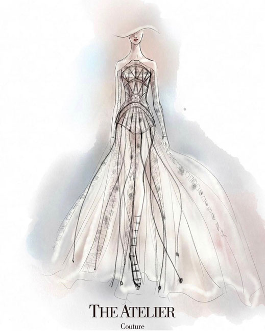 The Atelier Couture by Professor Jimmy Choo exklusiv für Audrey Wedding Salon Brautmode Köln