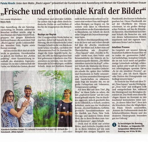 Schwetzinger Zeitung 26.09.2016