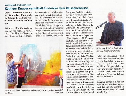 Schwetzinger Woche 28.09.2016