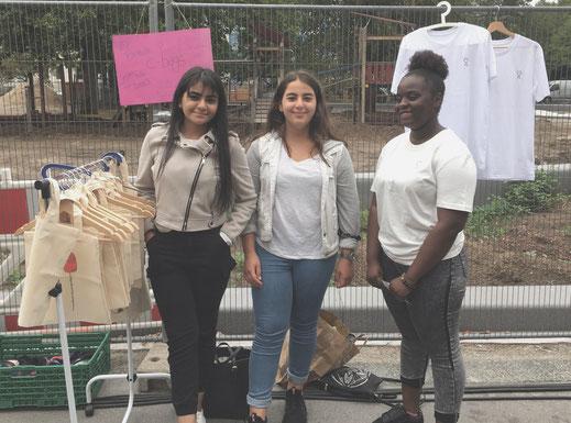Sommerunternehmerinnen beim Verkauf, Futurepreneur