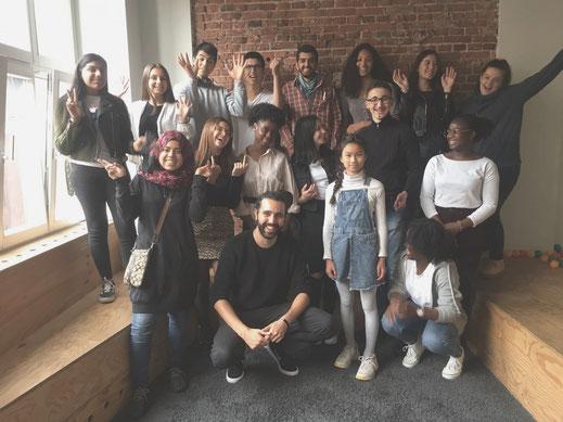 Sommerunternehmer*innen mit Tarek Müller bei ABOUT YOU, Futurepreneur