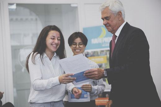 Diplomübergabe in der Handelskammer Hamburg, Futurepreneur