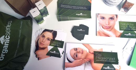 OrganicSeries auf Beautymesse in Bologna